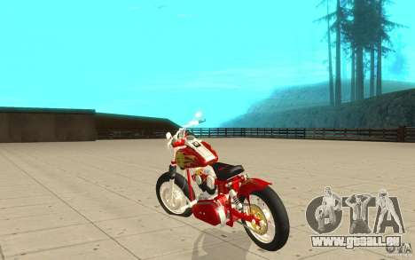 Orange County Chopper Sunshine für GTA San Andreas zurück linke Ansicht