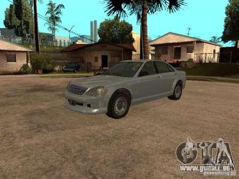 Schafter de Gta 4 pour GTA San Andreas