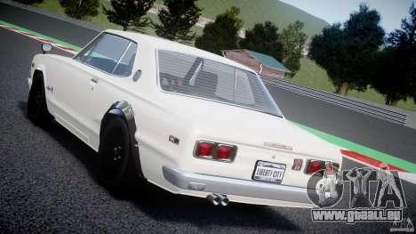 Nissan Skyline 2000 GT-R für GTA 4 Innen