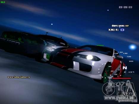 Nissan Silvia S15 DragTimes für GTA San Andreas