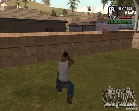 Revolver pour GTA San Andreas troisième écran