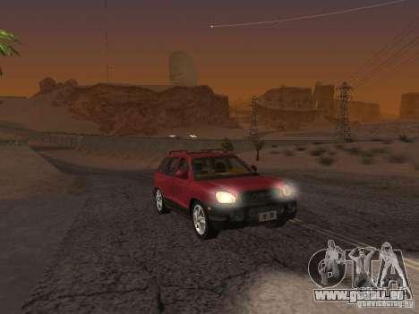 Hyundai Santa Fe Classic pour GTA San Andreas