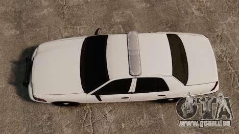 Ford Crown Victoria Unmarked ELS für GTA 4 rechte Ansicht
