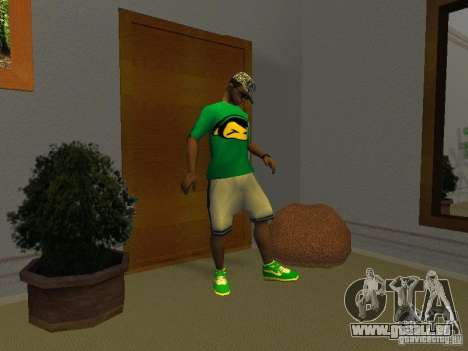 Neue grüne Laufschuhe für GTA San Andreas