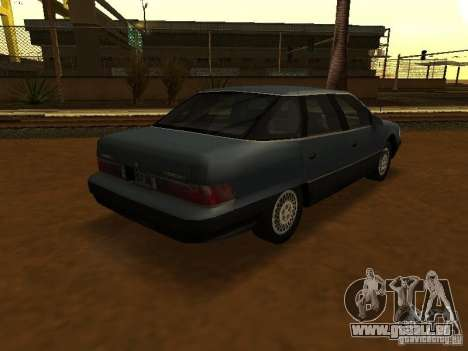 Mercury Sable GS 1989 pour GTA San Andreas laissé vue