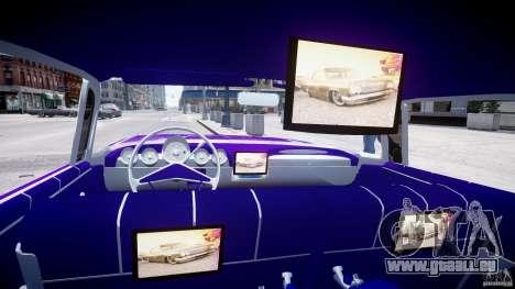 Chevrolet Impala 1959 für GTA 4 Innenansicht
