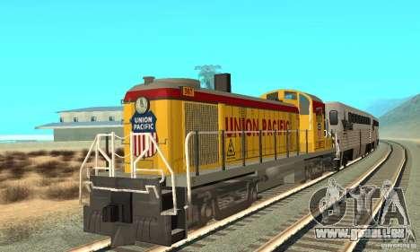 RS3 Diesel Lokomotive Union Pacific für GTA San Andreas