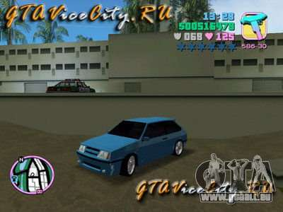 VAZ Lada 2108 Samara für GTA Vice City