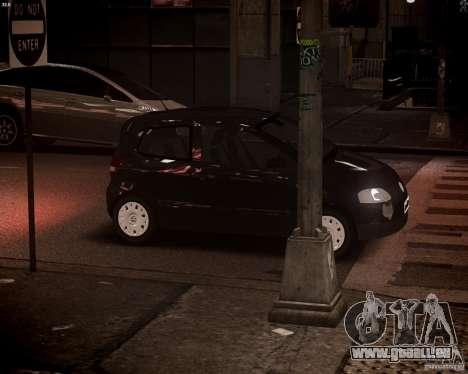 Volkswagen Fox 2011 für GTA 4 obere Ansicht