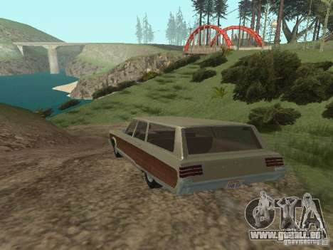 Chrysler Town and Country 1967 pour GTA San Andreas vue de droite