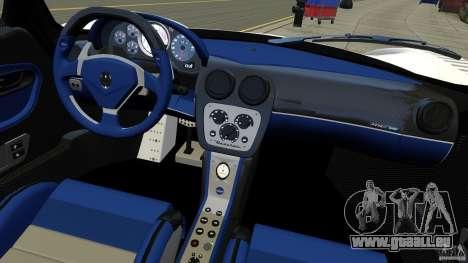 Maserati MC12 für GTA 4 Rückansicht