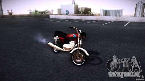 Honda CG 125 für GTA San Andreas