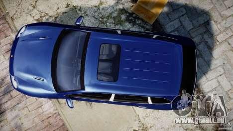 Porsche Cayenne Magnum pour GTA 4 Vue arrière