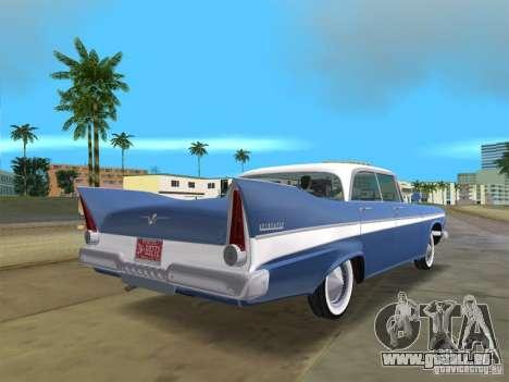 Plymouth Belvedere 1957 sport sedan pour une vue GTA Vice City de la gauche