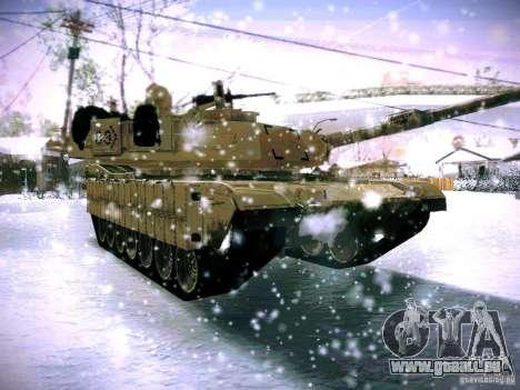 M1A2 Abrams von Battlefield 3 für GTA San Andreas