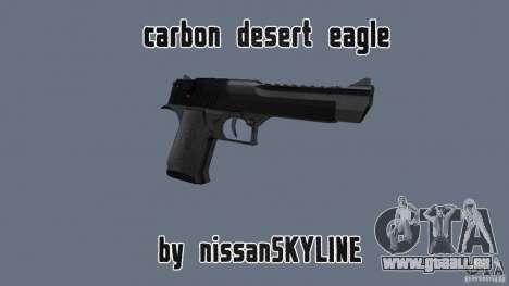 Carbon Desert Eagle pour GTA San Andreas