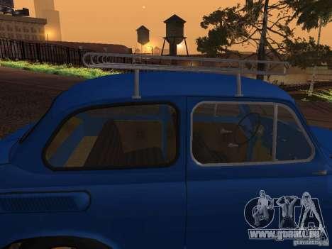 ZAZ 965M pour GTA San Andreas vue de dessus