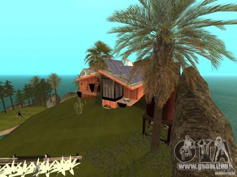 Kapu Pohaku Island v1.2 pour GTA San Andreas troisième écran