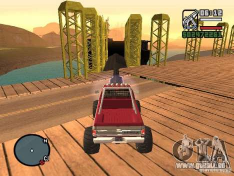 Monster tracks v1.0 pour GTA San Andreas neuvième écran