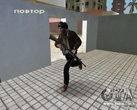 Niko Bellic im Ohr Klappen für GTA Vice City Screenshot her