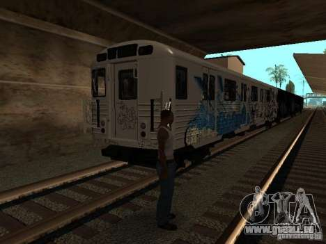 Le train de GTA IV pour GTA San Andreas