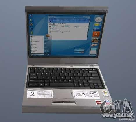Laptop Haft-Bombe pour GTA San Andreas
