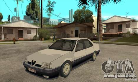 Alfa Romeo 164 für GTA San Andreas Innenansicht