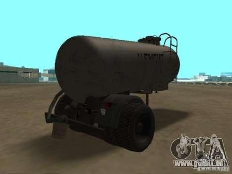 TTC 26 pour GTA San Andreas sur la vue arrière gauche