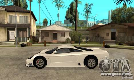Saleen S7 Twin Turbo pour GTA San Andreas laissé vue