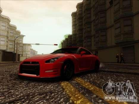 Nissan GTR Egoist 2011 pour GTA San Andreas vue de droite