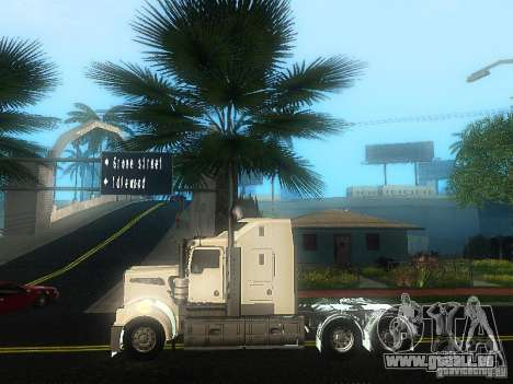 Kenworth T908 pour GTA San Andreas laissé vue