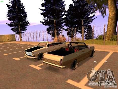 New Perennial pour GTA San Andreas sur la vue arrière gauche