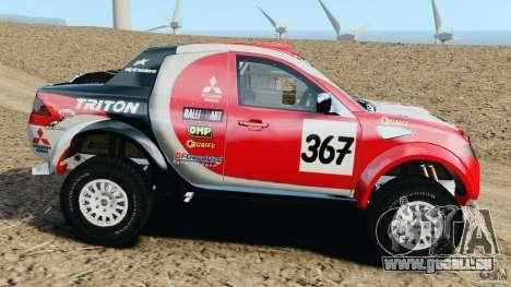 Mitsubishi L200 Triton pour GTA 4 est une gauche