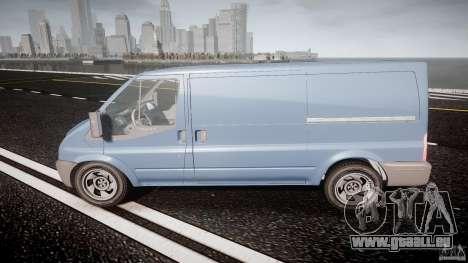 Ford Transit 2009 pour GTA 4 est une gauche