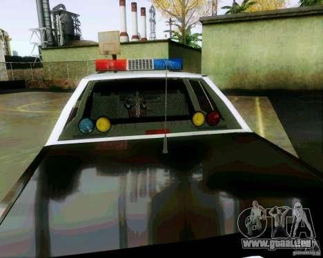 Ford Crown Victoria LTD 1991 SFPD pour GTA San Andreas vue de côté