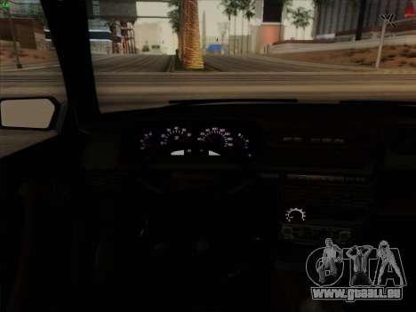 VAZ 21099 Drain pour GTA San Andreas vue de côté