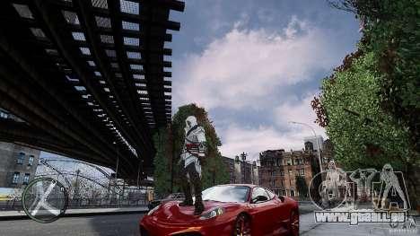 Assassins Creed II Ezio für GTA 4 sechsten Screenshot