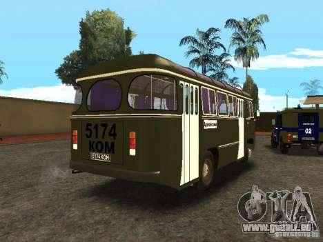 672 PAZ v2 pour GTA San Andreas sur la vue arrière gauche