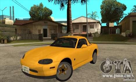 Mazda MX-5 JDM Coupe für GTA San Andreas