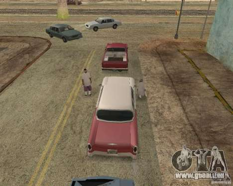 More Hostile Gangs 1.0 für GTA San Andreas