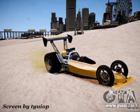 Raketomobil′ pour GTA 4 est une vue de l'intérieur