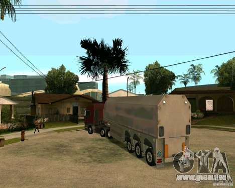 Anhänger Steklovoz für GTA San Andreas