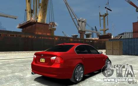 BMW 330i E90 pour GTA 4 est un droit