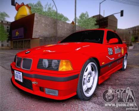 BMW M3 E36 1995 pour GTA San Andreas vue arrière