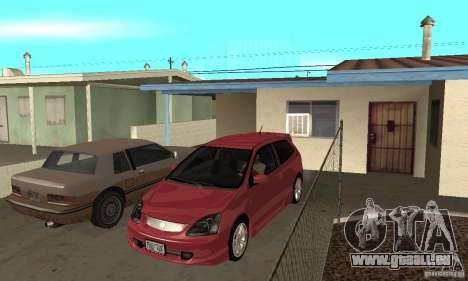 Honda Civic Type R - Stock + Airbags pour GTA San Andreas