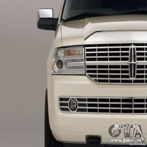 Laden Bildschirme Lincoln Navigator für GTA San Andreas