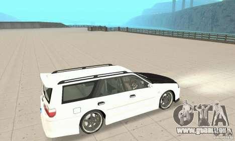 Nissan Stagea GTR pour GTA San Andreas vue de côté