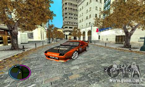 Mazda RX-7 FC for Drag pour GTA San Andreas vue intérieure
