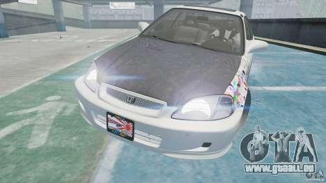 Honda Civic Si 1999 JDM [EPM] für GTA 4