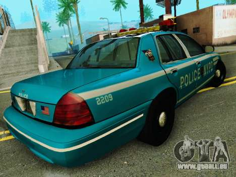 Ford Crown Victoria 2003 NYPD Blue für GTA San Andreas rechten Ansicht
